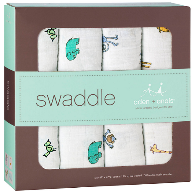 Aden + Anais Swaddle Blankets