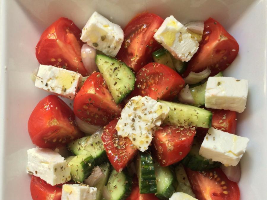 Recipe: Quick Greek Salad
