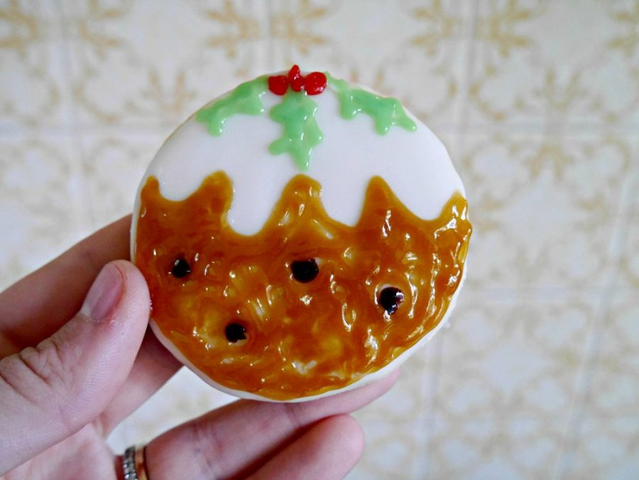 simple sugar cookies christmas pud