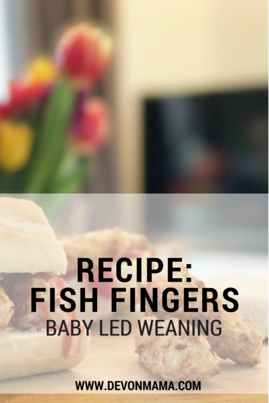 Fish Finger Recipe- Baby Lead Weaning