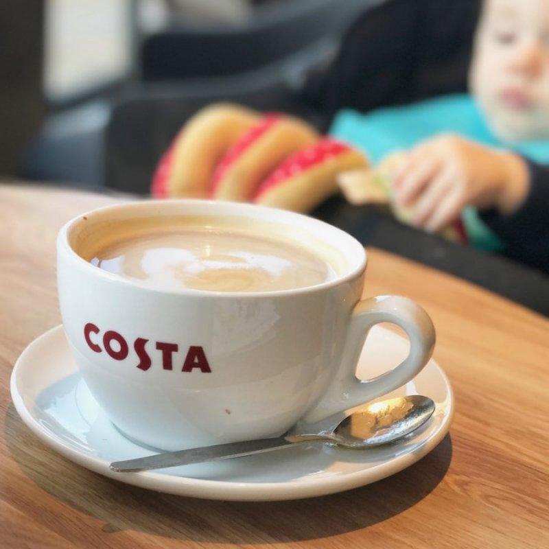 coffee break with my baby