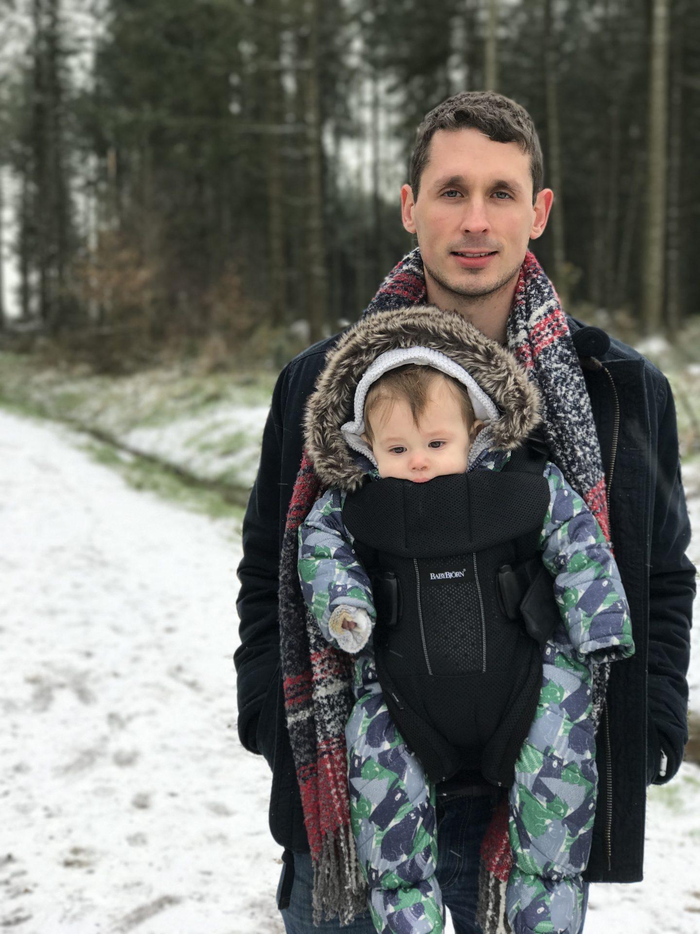 A Walk in the Snow - Living Arrows Devon Mama