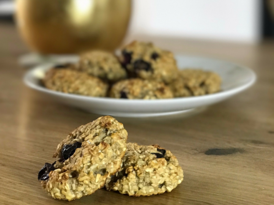 Recipe: Blueberry & Banana Oat Bakes (Baby Led Weaning)