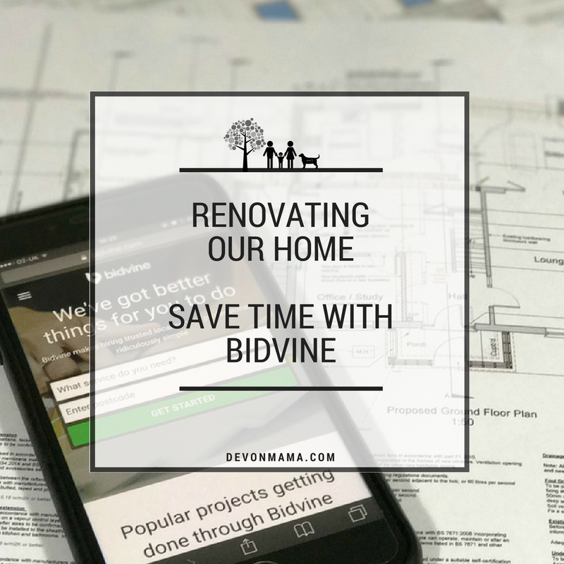 Renovating our Home- Save Time with Bidvine