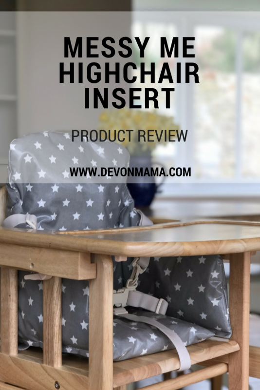 Product Review Messy Me HIghchair Insert
