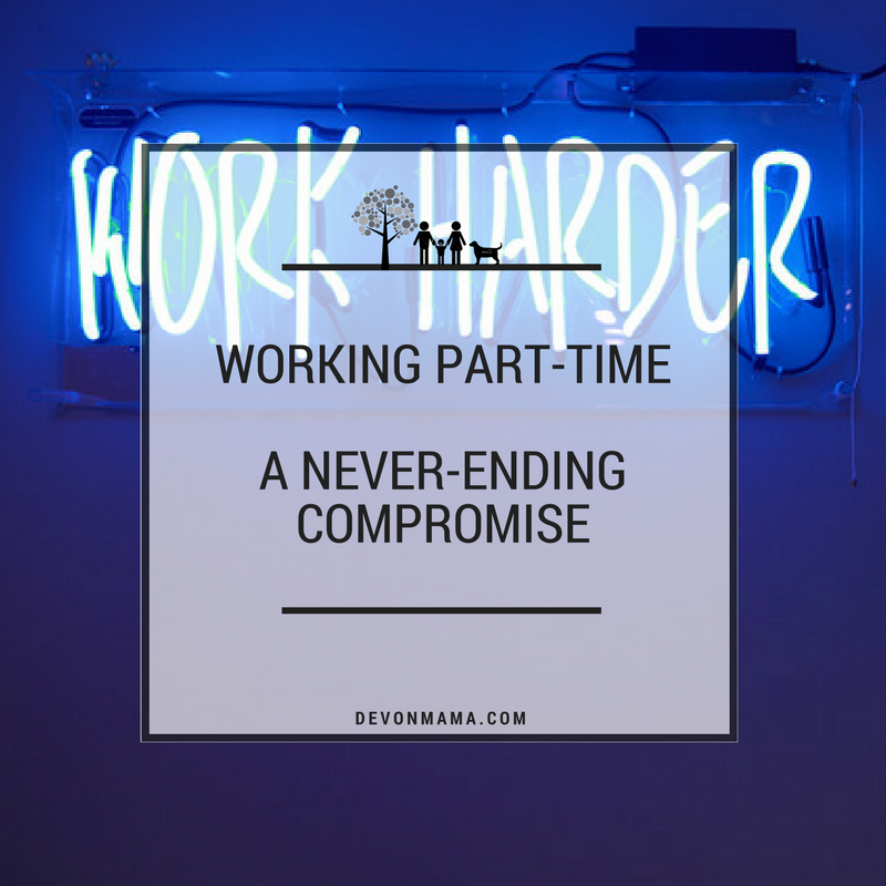 Part time work compromise
