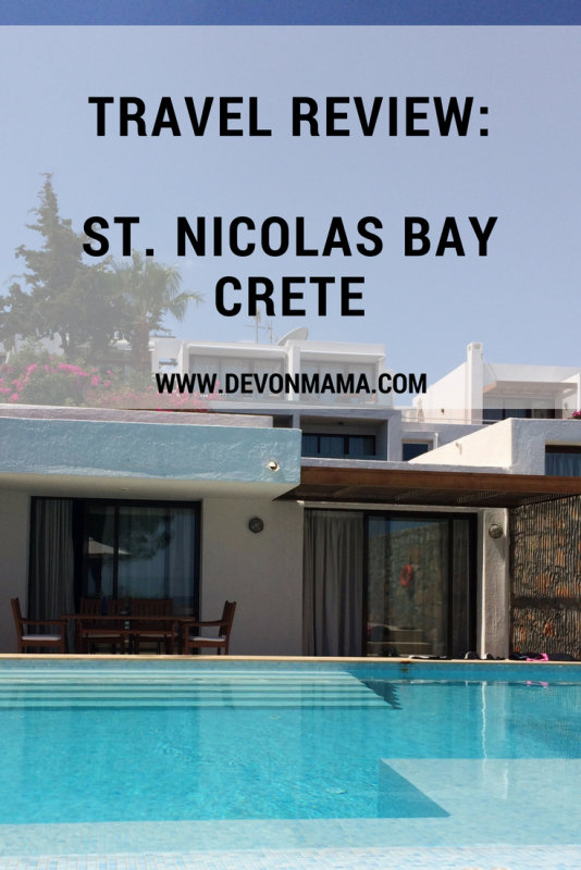 Travel Review St Nicolas Bay Crete