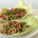 Chinese Lettuce Leaf Wraps Recipe