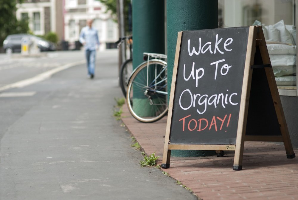 Wake Up To Organic Campaign