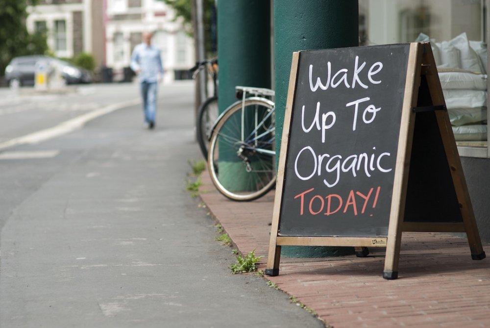 Wake Up To Organic Campaign