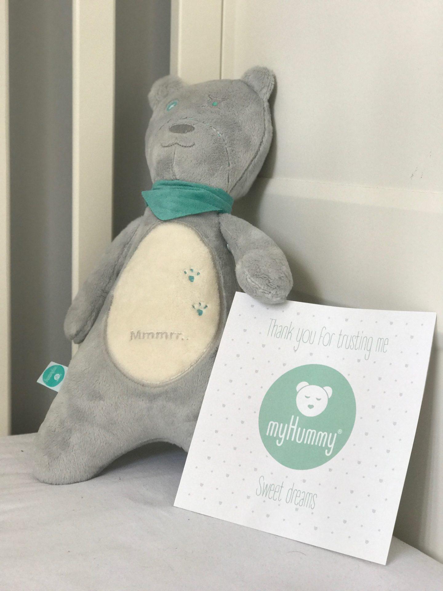 myHummy teddy bear review