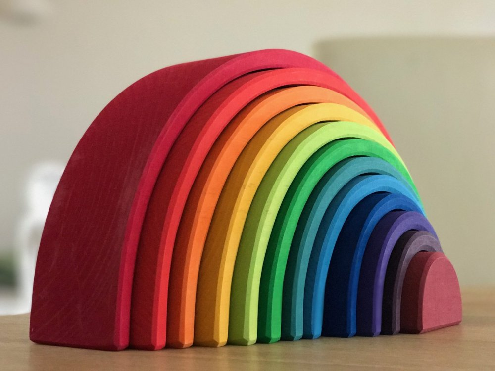 Grimms Rainbow (12 Pieces)