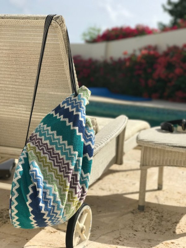 Missoni Towelling Beach Bag