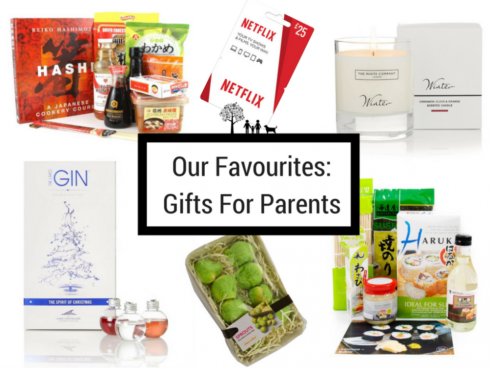Our Favourites: Gifts For Parents