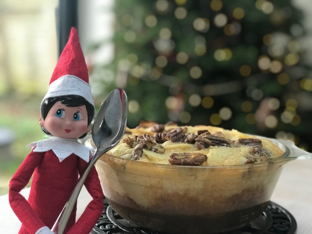Microwave Toffee Apple Crumble Pudding