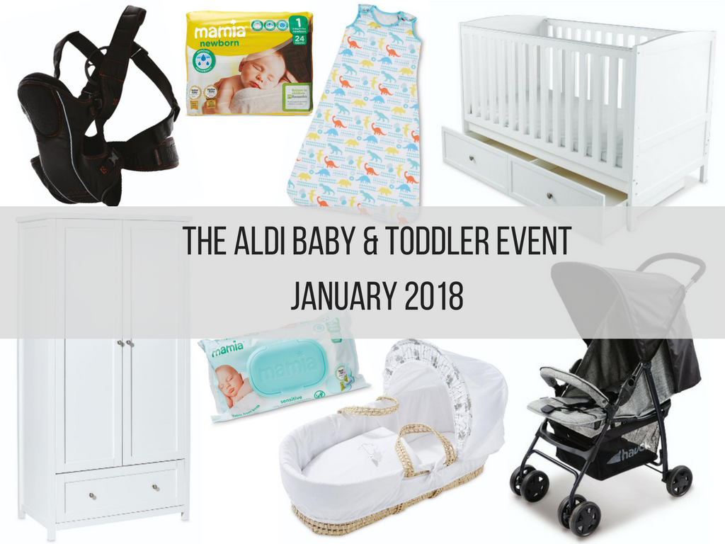 Aldi Baby & Toddler Event January 2018