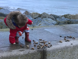 Throwing Stones & Building Castles: The Simple Things