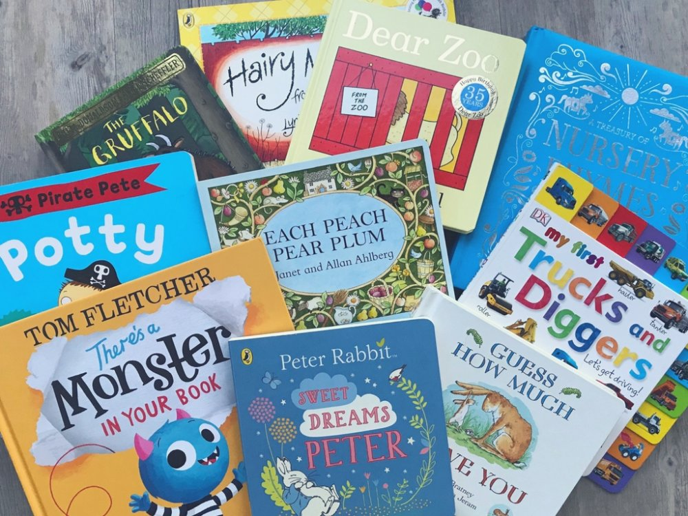 Our Top Ten Books For A Two Year Old