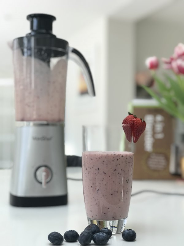 Berry and Banana Smoothie Recipe