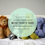 Pregnancy Calendar - Week Thirty Four