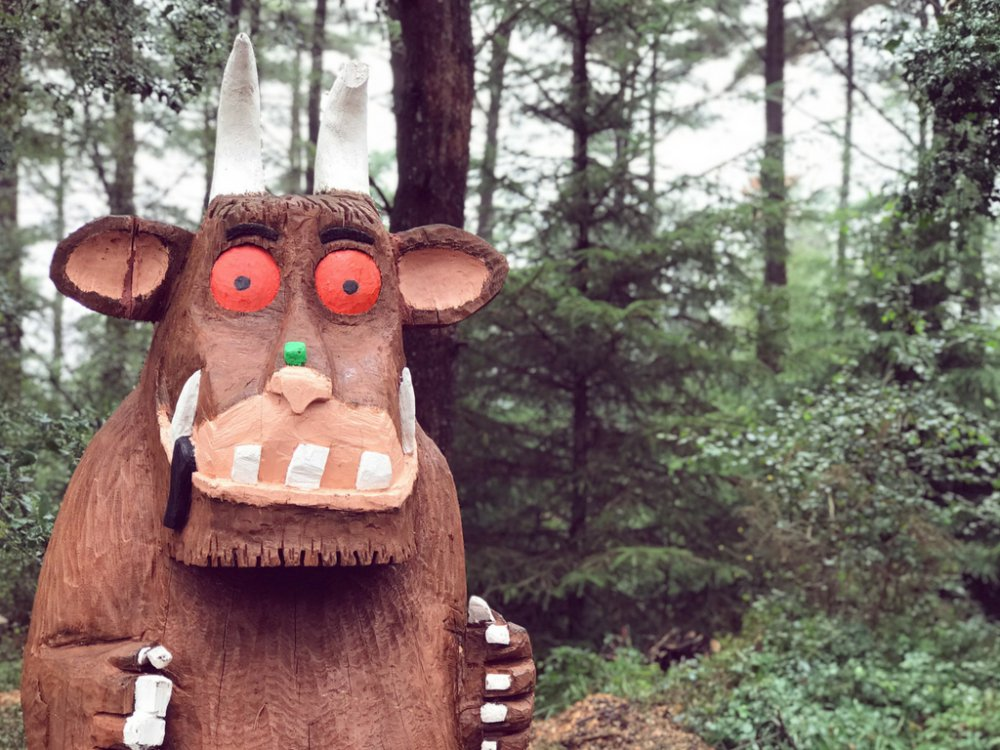 Days Out: Gruffalo Hunting At Haldon Forest Park