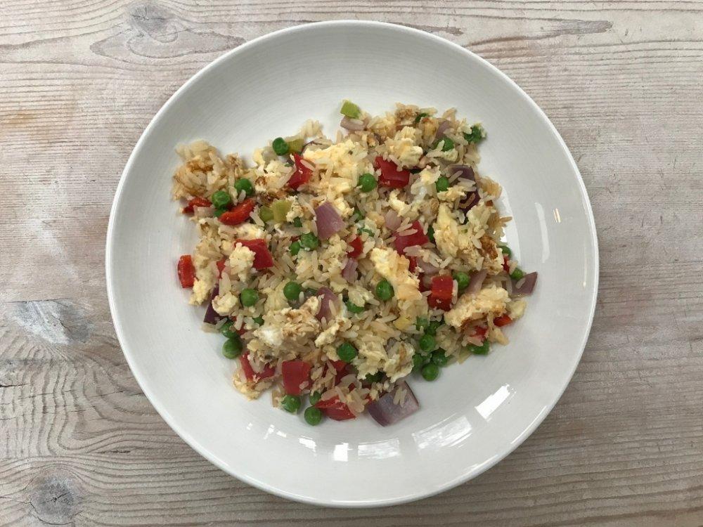 Recipe: Egg Fried Rice