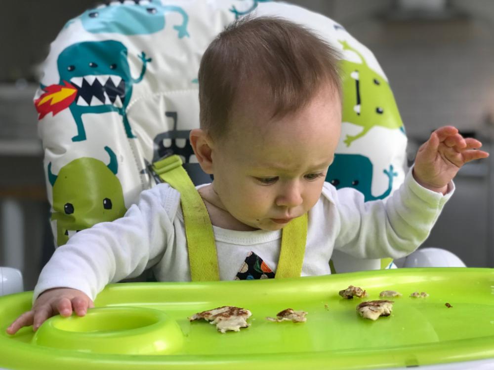 Recipe: Banana Pancakes (Baby Led Weaning)