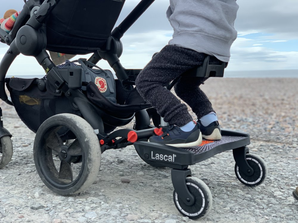 Lascal Maxi Plus Buggy Board Review